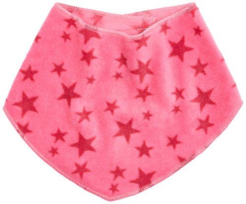 Playshoes Baby-Unisex mit Klettverschluss an der Rückseite, mit Sternen-Muster legeres Hals-Tuch, pink, one size