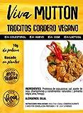 Viva Planta Trocitos de Cordero Vegano 300g | Sin Gluten | Vegan | Sin carne | 100% Vegetal | Plant Based | Sin Gluten
