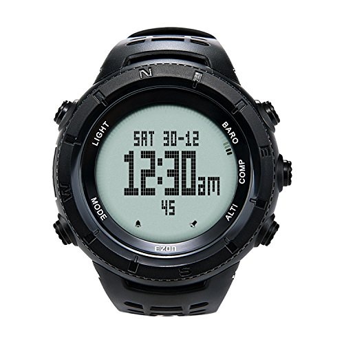 EZON Military Watch for Men Tactical Watches with Altimeter Barometer Compass Thermometer Waterproof H001