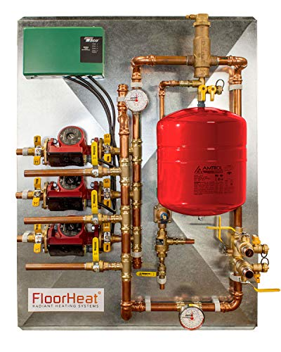 Radiant Heat Distribution/Control System (3 Zone - For use with Glycol)