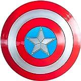 damdos Halloween Cosplay 57cm Shield for Captain America Shield 1:1 Steve Rogers ABS Plastic Kids Birthdays Gift