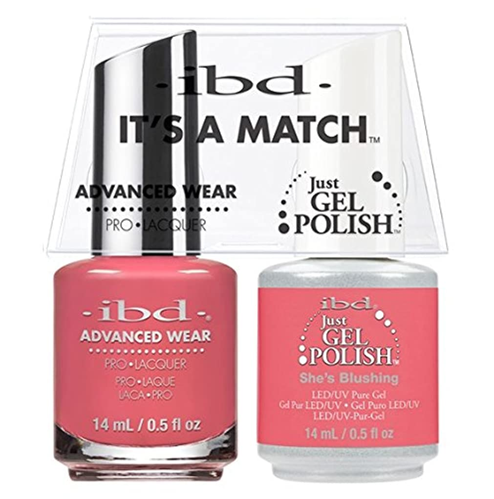一見思慮のない盲信ibd - It's A Match -Duo Pack- She's Blushing - 14 mL / 0.5 oz Each