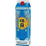 瑞泉 乙類30゜泡盛 パック 1.8L