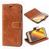 Mulbess Samsung Galaxy A5 2017 Case Wallet, Leather Flip