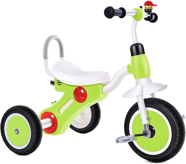 el mas de moda Bicicleta de Acero con Alto Contenido de Cochebono para para para triciclos de Niños Bicicleta para Niños de 2-5 años con música e iluminación (Color   verde)  comprar marca