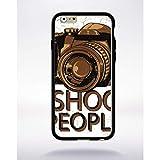 Générique Coque i Shoot People Compatible Apple iphone 6 Bord Noir Silicone