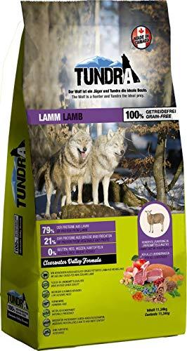 Tundra Trockenfutter Hundefutter Lamm - getreidefrei (11,34 kg)