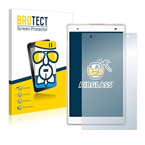 BROTECT Panzerglas Schutzfolie kompatibel mit Lenovo Tab 4 8 Plus - AirGlass, 9H Festigkeit, Anti-Fingerprint, HD-Clear