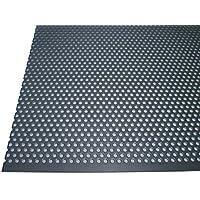 Acero inoxidable perforado 1,5mm de grosor rundlochung 3mm de diámetro versetzt RV 3–5