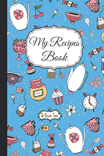 My Recipes Book: Awesome Notebook For Writhing Recipes with 100...