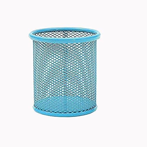 JoyRolly Bleistift Stift Topflappen Mesh Zylinder Make-up Pinsel Container blau Bürobedarf Veranstalter