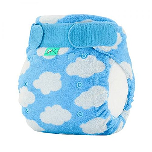 TotsBots Bamboozle Stretch Size 1 Bamboo Fleece Reusable Washable Nappy in DayDream Design