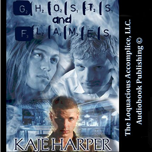 Ghosts and Flames audiobook cover art