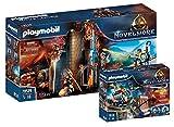 PLAYMOBIL Novelmore 70538 Novelmore 70539 Burnham Raiders - Juego de 2 piezas