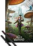 1art1 Alice Im Wunderland Poster (91x61 cm) Verrückter