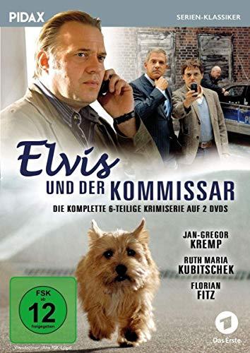 Elvis und der Kommissar / Die komplette 6-teilige Krimiserie (Pidax Serien-Klassiker) [2 DVDs]