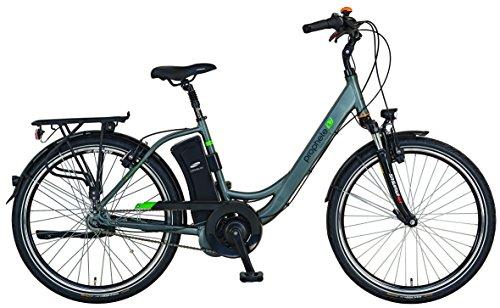 "Prophete E-Bike,26\"", Geniesser e8.7, AEG EcoDrive C Mittelmotor,36V,250W,max.50 Nm,7-Gang Nabenschaltung , SAMSUNG SideClick Lithium-Ionen,36V, 10,4Ah (374Wh),Rücktrittbremse, Alu-Urban-Premium-Rahmen"