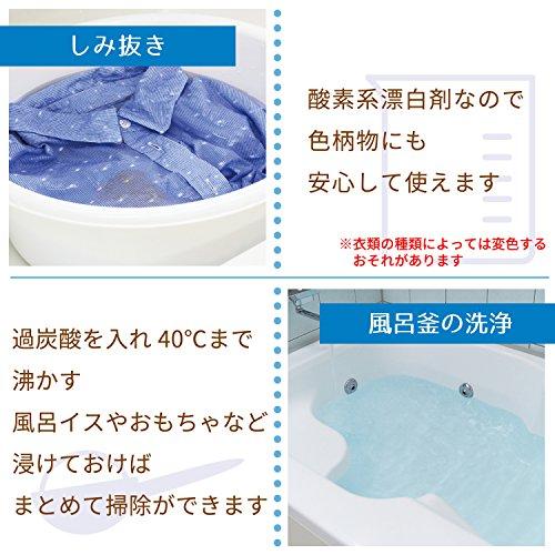 過炭酸ナトリウムの激落ちくん粉末タイプ500g(酸素系漂白剤)