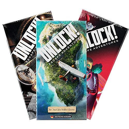 Space Cowboys Unlock! - Insel + Mausefalle + Formel Vorteilspack