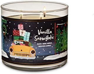 Best vanilla snowflake 3 wick candle Reviews