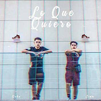 Lo Que Quiero (feat. Deka)
