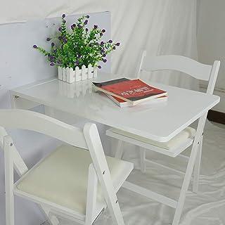 Table Murale Rabattable - Table à Manger Table de Travail Bureau d'ordinateur Portable Table Enfant - Table Murale (70 * 4...