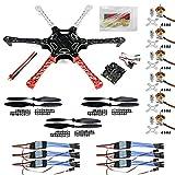 BGNing Hexacopter ARF Drone F550 Hex-Rotor FlameWheel Kit + KK 2.3 Flug-Steuerpult ESC Motor...