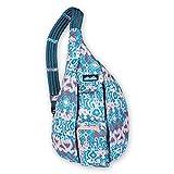 KAVU Original Rope Sling Bag Polyester Crossbody Backpack - Aqua...