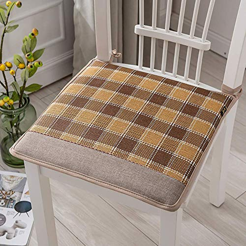 Aocean Comfy Chair Pads Seat Cushions,Breathable Memory Cotton Rattan Seat Cushion,Non Slip Soft Student Stool Chair Cushion Office Chairs E 40x40cm