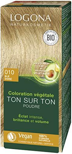 Logona Herbal Hair Color Powder, 010 Golden Blonde