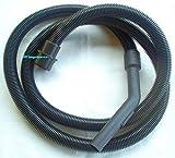 Tuyau d'aspirateur compatible avec AQUAVAC PRO 200, raccord d'appareil 57,8 mm de diamètre extérieur avec fonction de verrouillage à vis, longueur 3 m