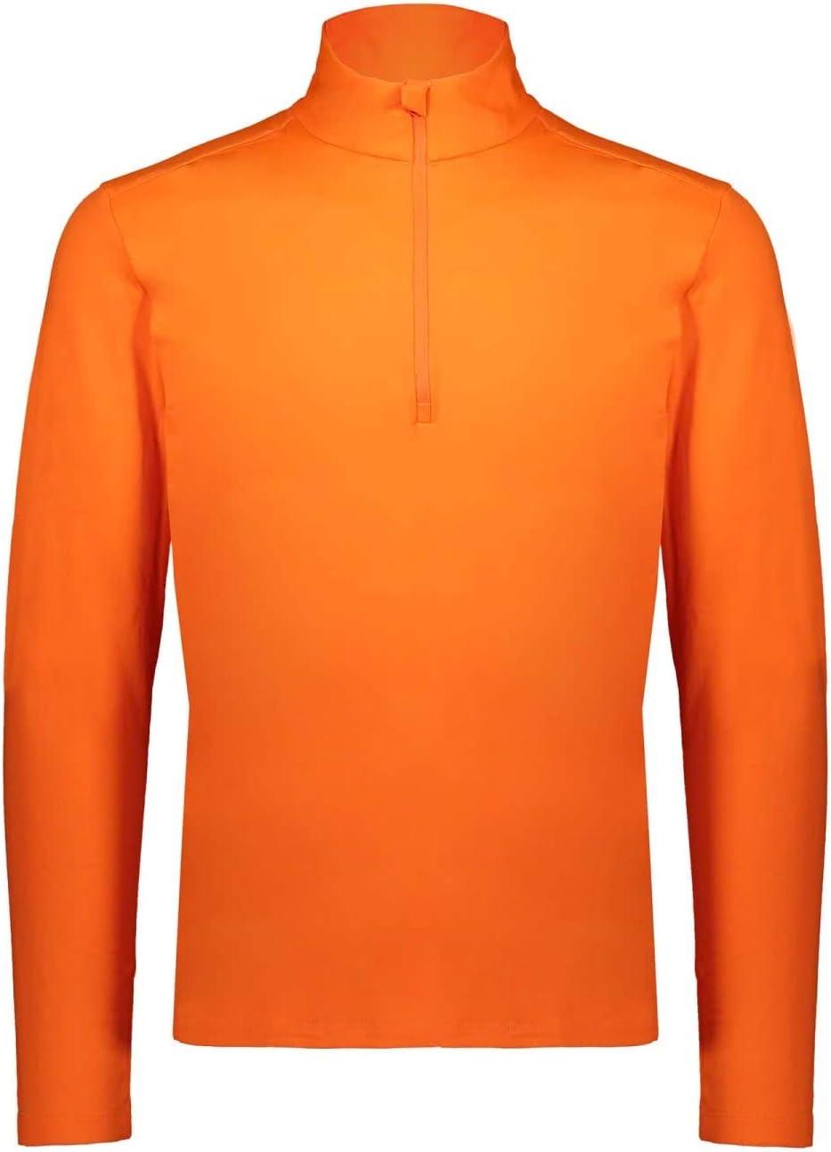 CMP Plain Fleece Softech, Men, Mens, 30L1097, Orange Fluo, 52