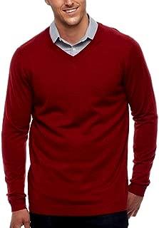 Apt 9 Mens Merino Wool Blend V-Neck Sweater