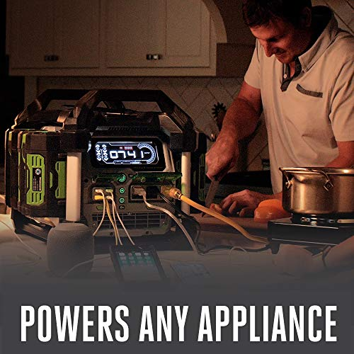 EGO Power+ PST3040 3000W Nexus Portable Power Station for Indoor and Outdoor Use Battery Not Included
