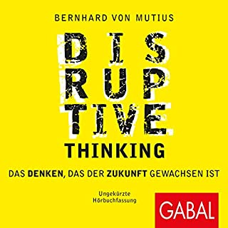 Page de couverture de Disruptive Thinking