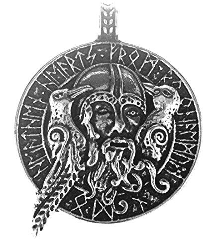 Kiss of Leather Odin mit Raben Anhänger...