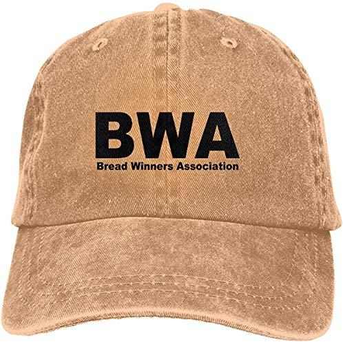 Qhghdgysd Man'S Fashion Cap Beard Winners Association BWA Baseball Hats Trucker Hip Hop for Women Cool Sports Hats Adjustable,Natural,One Size