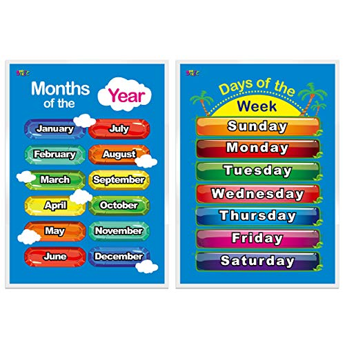 days of the week chart for kids - 2