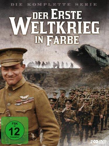 Der Erste Weltkrieg in Farbe - Die komplette Serie [2 DVDs]