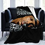 Au-gust Al-sina Fleece Blanket Lightweight Super Soft and Comfortable Luxury Bed Sheet. 50'x40'