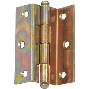 Hauteur : 55 mm D/écor : Nickel/é ITAR Charni/ère universelle contre coud/ées