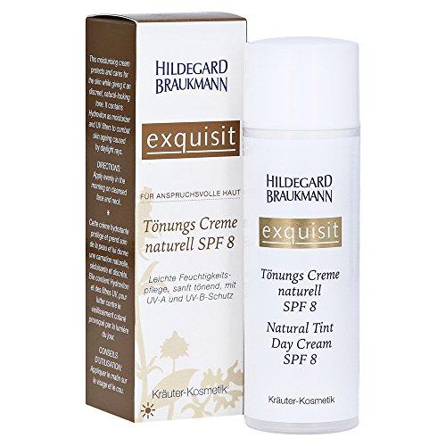 Hildegard Braukmann Exquisit Make-Up Tönungscreme naturell, 1er Pack (1 x 50 ml)