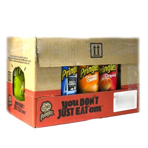 【賞味期限3ヶ月以上】アメリカ版プリングルズ(Pringles)【7種類】14個おまかせセット※プリングルス [並行輸入品]