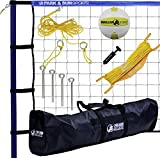 Park & Sun Sports Spiker Sport: Portable Outdoor Volleyball Net...