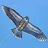 WANG 150cm Grande águila de la Cometa con la Cometa de la Mano y la línea Volando Cometas al Aire Libre Juega para la diversión Regalo de los niños Muy Buena