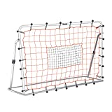 Franklin Sports Soccer Rebound Net - Training Soccer Net - Perfect For Backyard Soccer Practice - Portable 6'x4' Net With Steel Frame - White