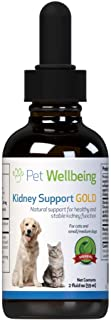 Pet Wellbeing – Kidney Support Gold for Cats – Natural Support for Feline..
