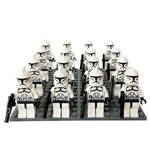 Star Wars Figuren Spielzeug Actionfiguren Spielsets Sith-Soldaten Klonsoldaten Modell Statue Sammlung Collectible Figuren Geschenk für Kinder 201 Clone Soliders