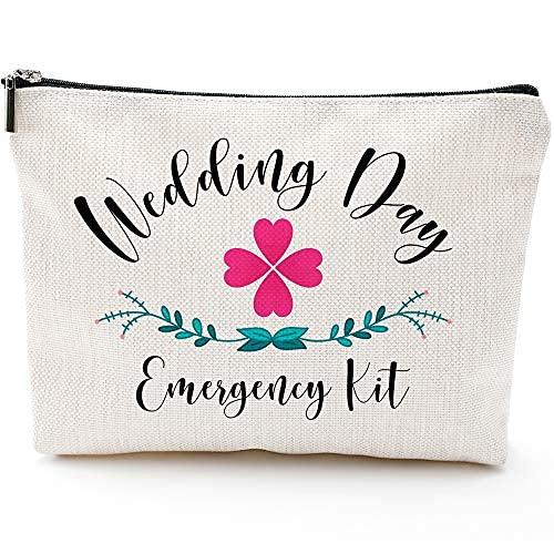 Kit de supervivencia de boda, kit de emergencia de boda, kit de emergencia de boda, regalo de despedida de soltera, estuche de viaje de maquillaje, bolsa de maquillaje regalos