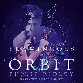 Flamingoes in Orbit audiobook cover art